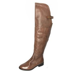 Steve Madden Sammm over the knee leather boots